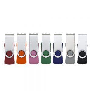 Pen Drive RM Giratório Metal 4GB/8GB