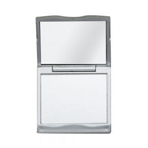 Espelho Plástico Duplo com Aumento